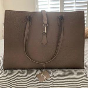 Ulta Large tote/bag, shimmery bronze